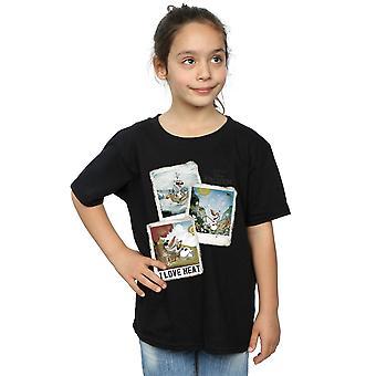 Filles de Disney congelés Olaf Polaroid T-Shirt