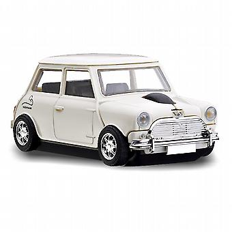 Official Motormouse Classic Mini Cooper Car Wireless Computer Mouse - White