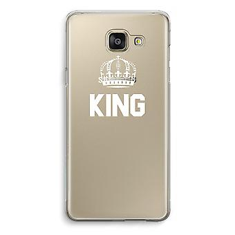 Samsung Galaxy A5 (2016) Transparent Case (Soft) - King black
