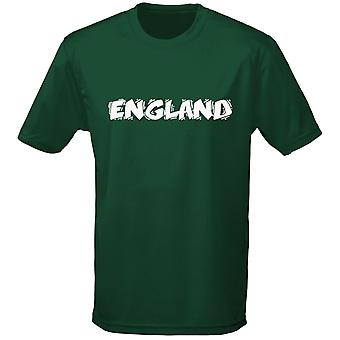 England Funky Football Rugby Mens T-Shirt 10 Colours (S-3XL) by swagwear