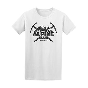 Alpine Club Established 1978  Tee Men's -Image by Shutterstock