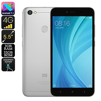 Xiaomi Redmi Note 5A Android Phone - Android 7.1.2, Octa-Core, 3GB RAM, 5.5-Inch Display, 16MP Camera, 4G, Dual-IMEI