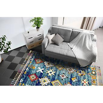 Royal Marrakech 2207B Dark Turquoise  Rectangle Rugs Traditional Rugs