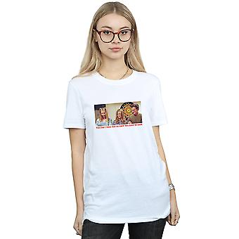 Friends Women's They Don't Know That We Know Boyfriend Fit T-Shirt