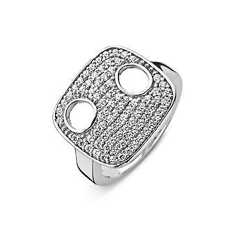 Orphelia sølv 925 Ring Luxe bane Zirconium ZR-3829