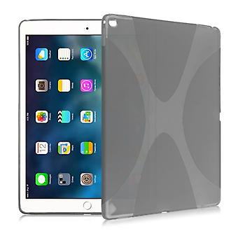 Silicone housse de protection série X-line gris étui pour Samsung Galaxy tab S3 9,7 T820 T825