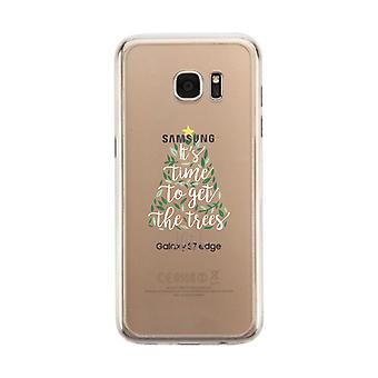 It's Time To Get The Trees Lit Clear Phone Case