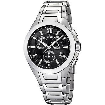 Festina mens watch sports chronograph F16678/9