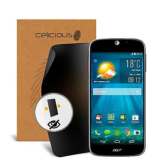 Celicious Privacy 2-Way Anti-Spy Filter Screen Protector Film Compatible with Acer Liquid Jade S