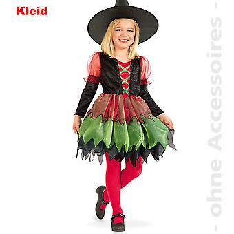 Costume d'enfant sorcière enfants Halloween costume sorcière costume sorcière