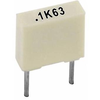 Kemet R82DC3100AA50K + 1 PC PET Kondensator Radial führen 100 nF 63 V 10 % 5 mm (L x b x H) 7,2 x 2,5 x 6,5 mm