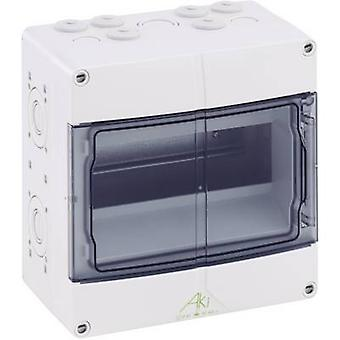 Spelsberg 73640901 AKi 09 Distribution board Surface-mount No. of partitions = 9 No. of rows = 1