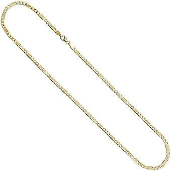 Cadena 333 /-g-oro cadena 45 cm langosta cierre collar oro