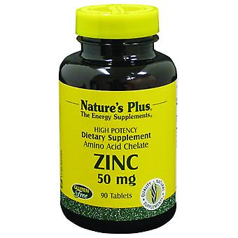 Natures Plus zinco 50 MG compresse 90