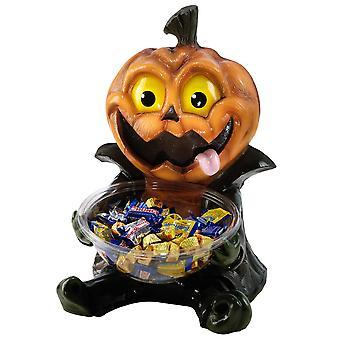 Pumpkin Candy Bowl Holder  Süßigkeitenhalter, aus Kunststoff (mit Schüssel).