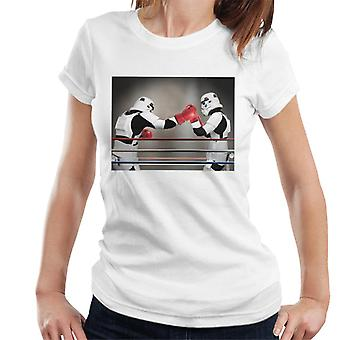 Original Stormtrooper Boxing Match Women's T-Shirt