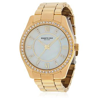 Kenneth Cole Gold-Tone Ladies Watch KC50739003