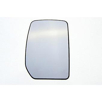 Vidrio espejo derecho (no calentado) y soporte para Ford TRANSIT van 2000-2014