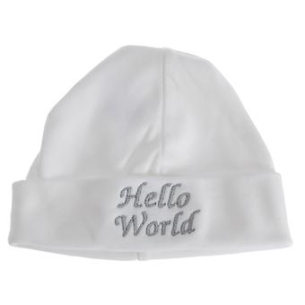 Baby Boys/Girls Hello World Hat