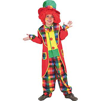 Clown suit child costume boy/girl circus Carnival