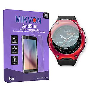 Casio WSD-F10 Screen Protector - Mikvon AntiSun (Retail Package with accessories)