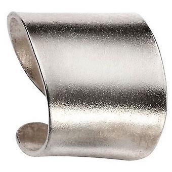 Beginnings Solid Matte Ear Cuff - Silver
