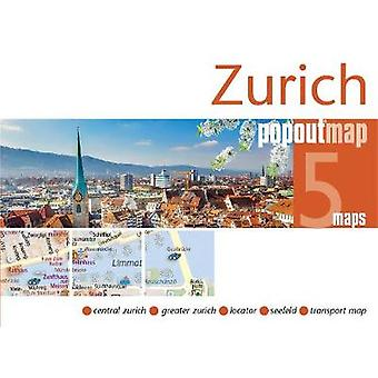 Zurich PopOut Map by PopOut Maps - 9781910218556 Book