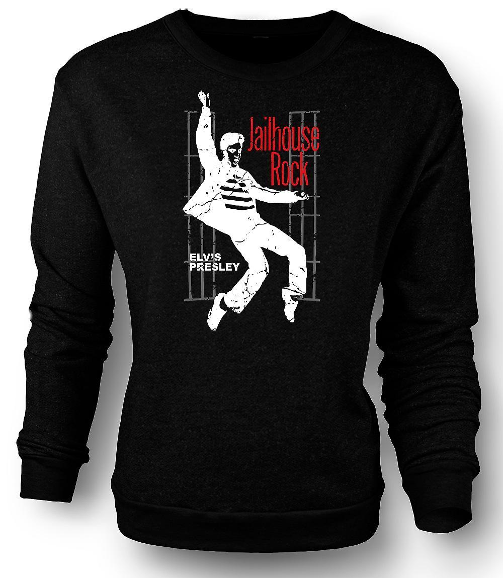 Mens Sweatshirt Elvis Presley Jailhouse Rock