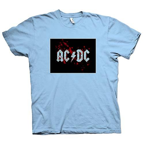 Hommes T-shirt - AC / DC - Rock Band - Logo