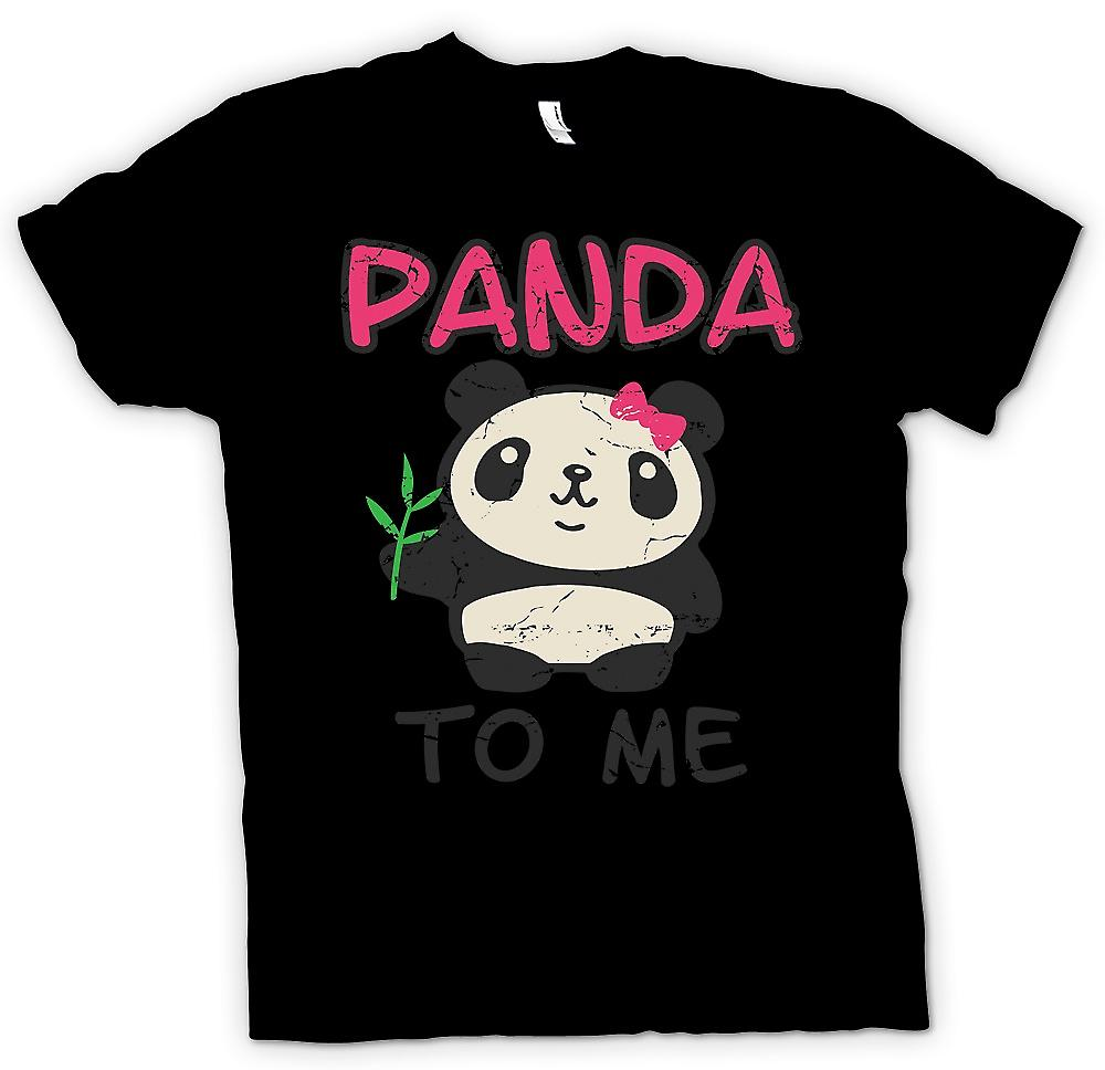 Kids T-shirt - Panda To Me - Funny Slogan
