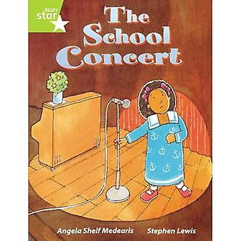 Rigby Star Guided Lime Level: The School Concert Single
