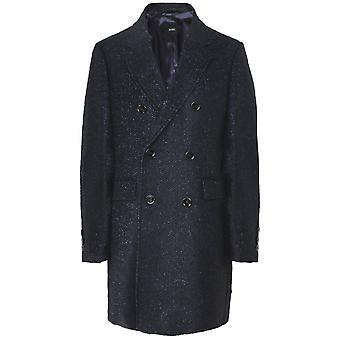 Boss Wool Blend Darvin4 Double Breasted Coat