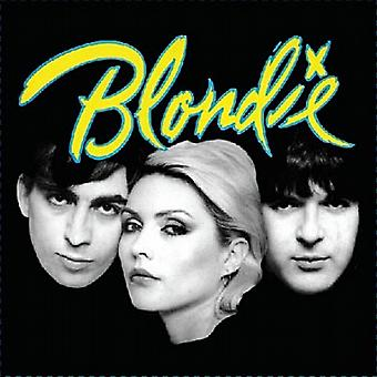 Blondie Eat To The Beat LP cover steel fridge magnet       (ro)
