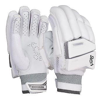 Kookaburra 2019 Ghost 3.0 Cricket Batting Gloves White/Grey
