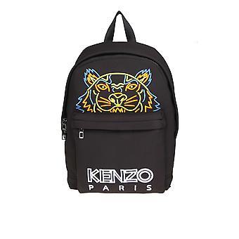Kenzo Black Nylon Backpack