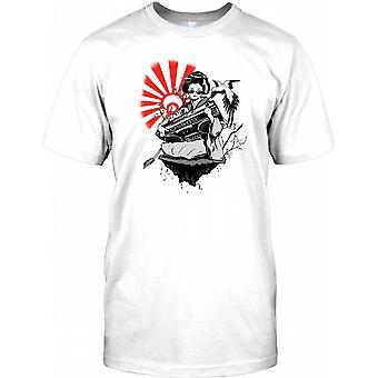 Japanese Geisha Girl -  Mens T Shirt