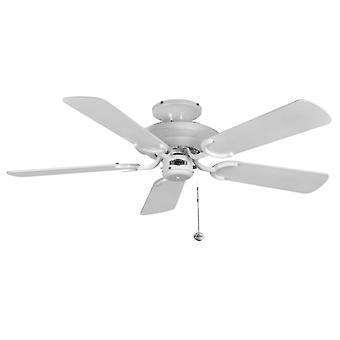 Ventilador de techo Mayfair lustre blanco 107cm/42