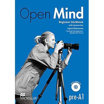Open Mind britische Ausgabe Anfänger Niveau Arbeitsmappe mit Schlüssel und CD-Pac