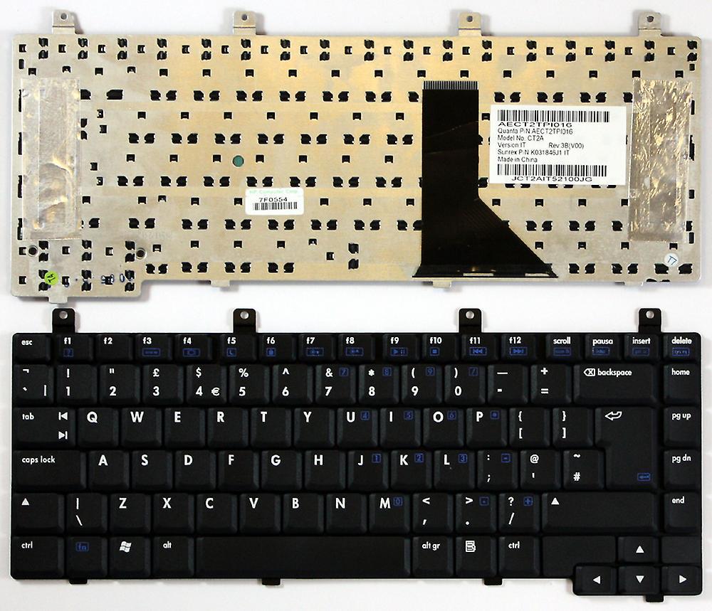 Clavier d'ordinateur portable HP Pavilion ZV6273EA noir UK mise en remplaceHommest