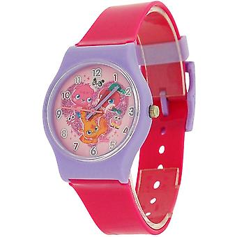 Moshi Monsters Hot Pink Girls Analogue Plastic Strap Watch MM019