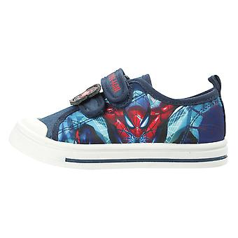 Spiderman Boys Tambora Low Top Casual Trainers UK Sizes Child 8-2