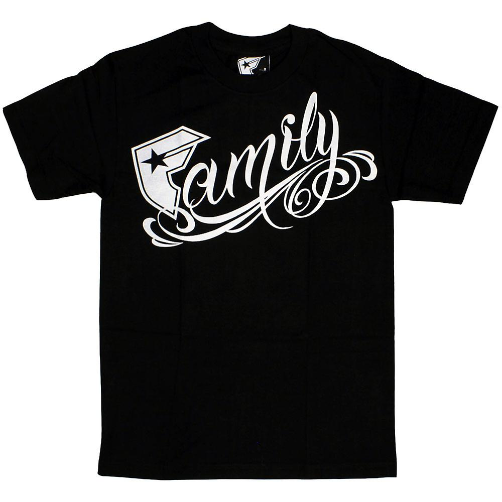 Famous Stars and Straps Familie T-shirt schwarz weiß