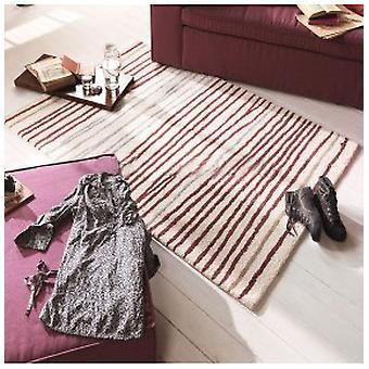 Rugs -Tom Tailor - Easy Stripes Cream & Violet