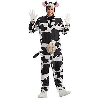 Comical mucca fattoria animale divertente umoristica vestire uomini Costume STD