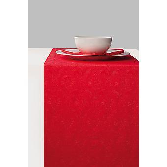 Ambiente Paper Table Runner, 33cm x 6m Elegance Red