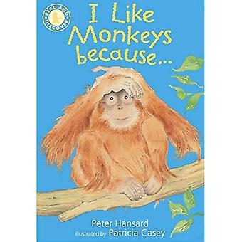 Ik houd van apen, omdat...