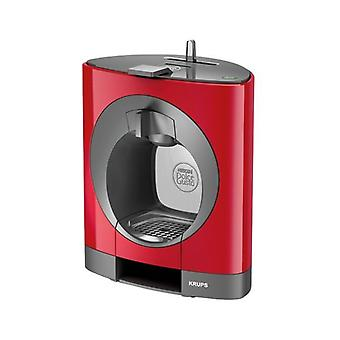 Coffee capsules, Dolce Gusto Krups Oblo KP1105 1500W 15 bar 0.6 L Red