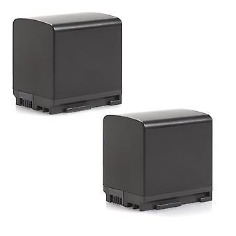 2 pakke batteri til Canon BP-820 XF405 VIXIA XA50 XA45 XA40 XA15 XA25 XA20 XF400