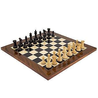 Elegant Palisander Chess Set