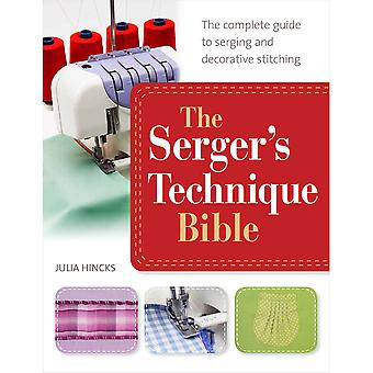 St. Martin's Books The Serger's Technique Bible Sm 42729